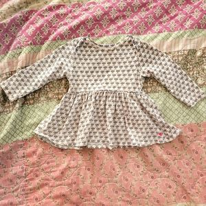 6/12 month patterned baby dress